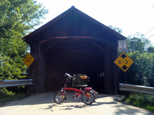 Bike at Coombs Bridge