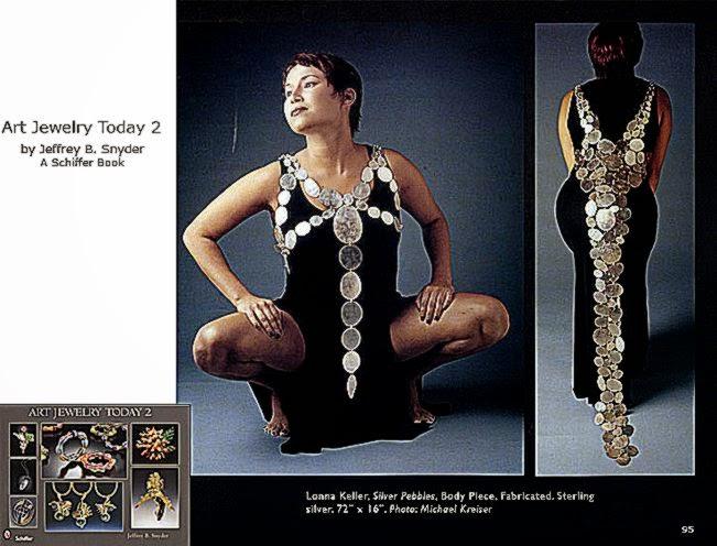 Lonna Keller39s body art featured in Art Jewelry Today