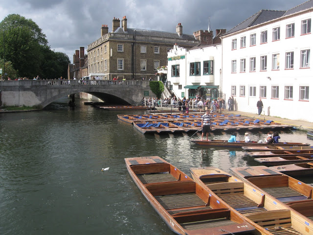 View of the punts, Cambridge