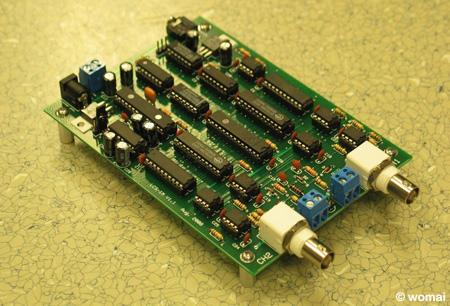 Oscilloscope PCB