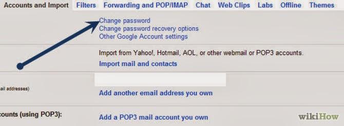 cach doi mat khau gmail giao dien tieng anh buoc 5 Hướng dẫn cách thay đổi mật khẩu Gmail bằng hình ảnh