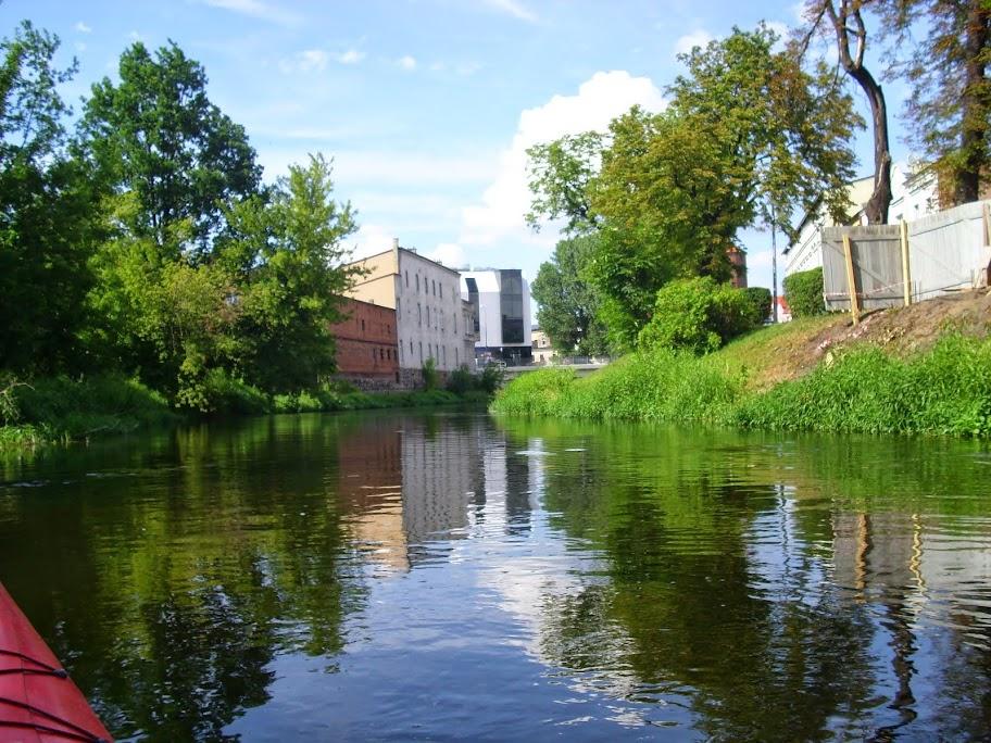Rzeka Drwęca w Brodnicy