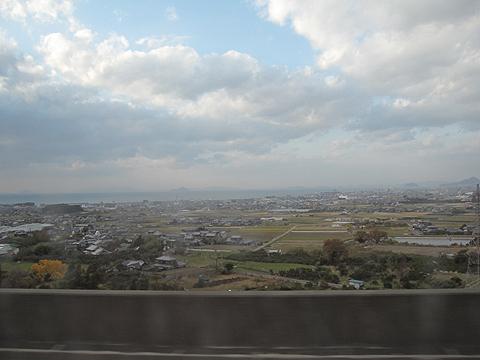 四国高速バス「さぬきエクスプレス八幡浜」・233 車窓