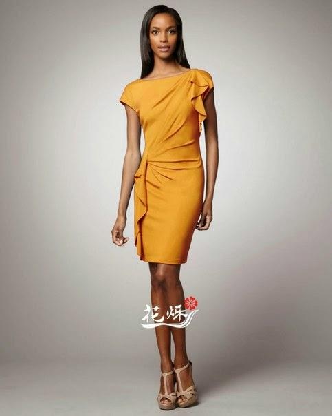 фото платья с драпировкой