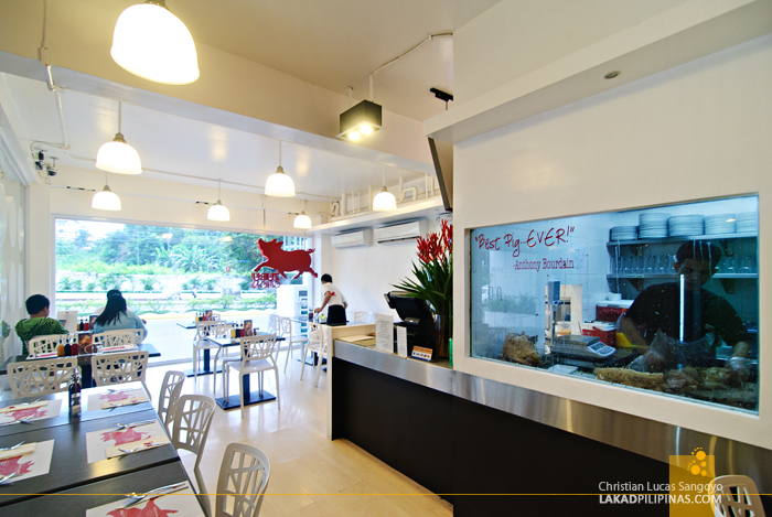 Spacious and Airy Dining Space at Cebu's Zubuchon