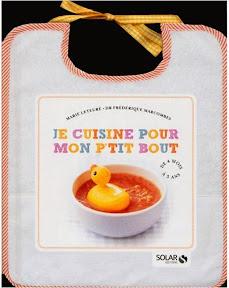 Livre recette bébé je cuisine pour mon ptit bout
