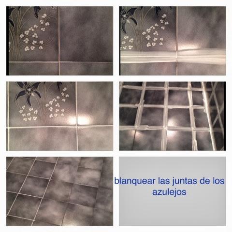 La tentaci n de la belleza 2013 10 13 - Como blanquear las juntas de los azulejos ...
