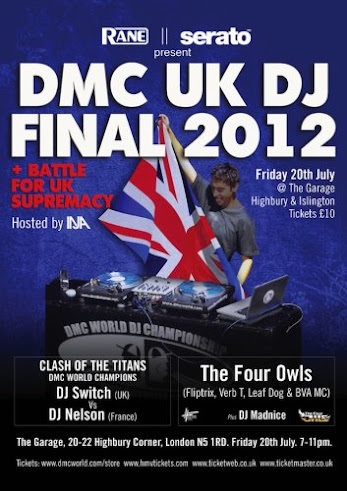 2012 DMC UK DJ Final