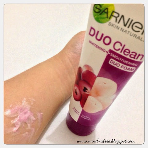 [Review] Garnier Duo Clean Whitening and Smoothening Foam