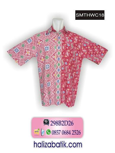 koleksi baju batik modern, batik pekalongan, macam batik