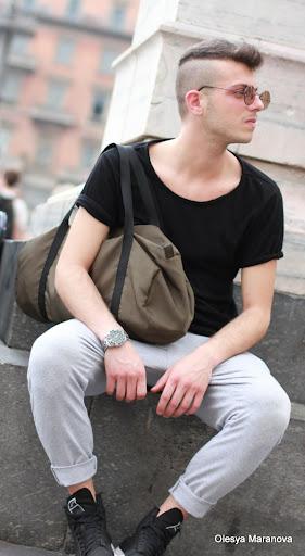 фото люди на улице милан, что модно носить в Италии, как одеваются люди в Италии, фото лукхантера, стиль лето 2011