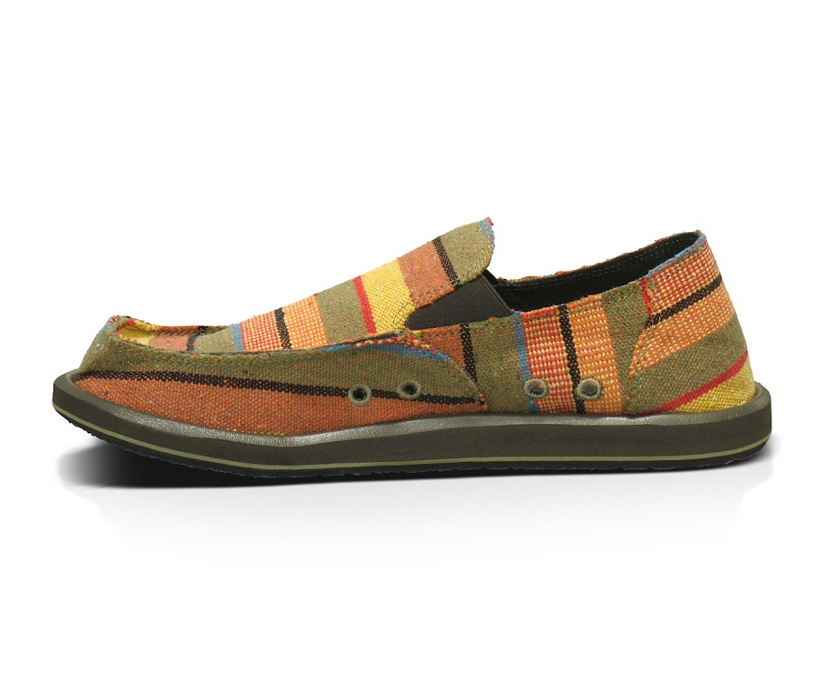 *Sanuk 鮮豔麻編織:DONNY 寬版懶人鞋! 6