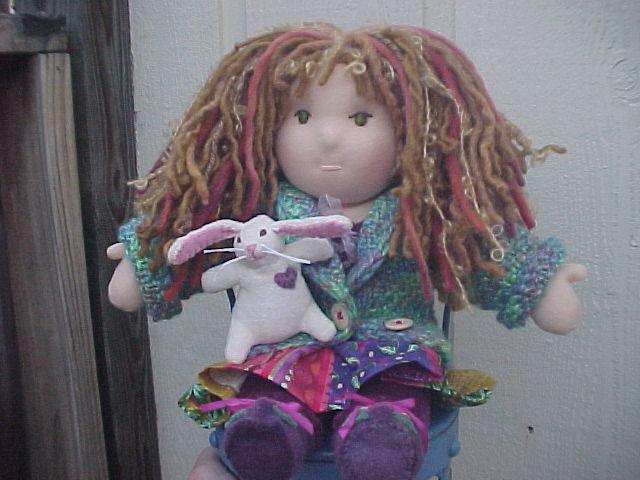 "12"" Custom Waldorf Doll"