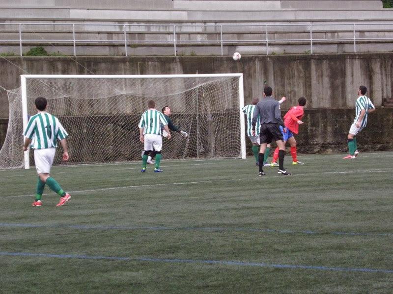Numancia de Ares. Gol de Manu fronte o Bertón (09/02/2014)