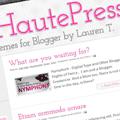 Haute Press Blogger Template