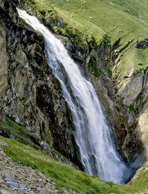 Adelboden Engstligenfälle Berner Oberland Schweiz