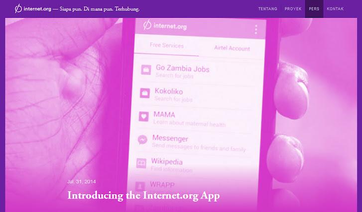 Internet.org app Zambia