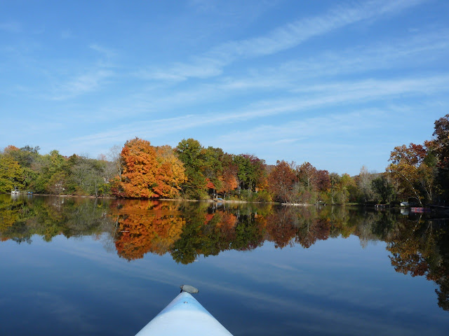 kayaking in October