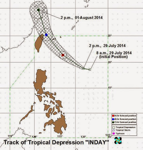 Tropical Depression Inday