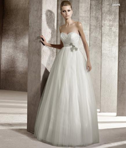 Menyasszonyi ruha 2012 Pronovias Jaspe