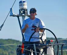 Volvo Ocean Race skipper Ken Read sailing PUMA mar mostro