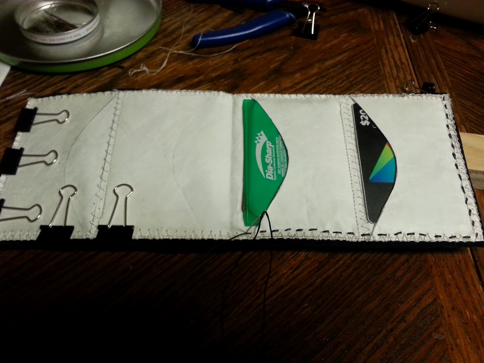 I made a new wallet last night