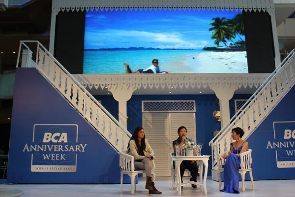 Talkshow Trinity dan Nadine Chandrawinata