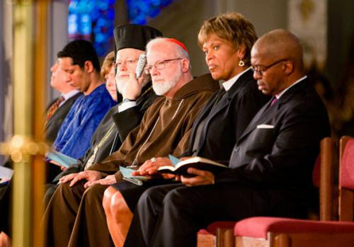 Boston Interfaith Service Stresses Citys Grace And Strength In Tragedy