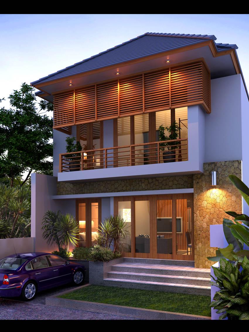 Desain Rumah Minimalis Ukuran 10 X 25
