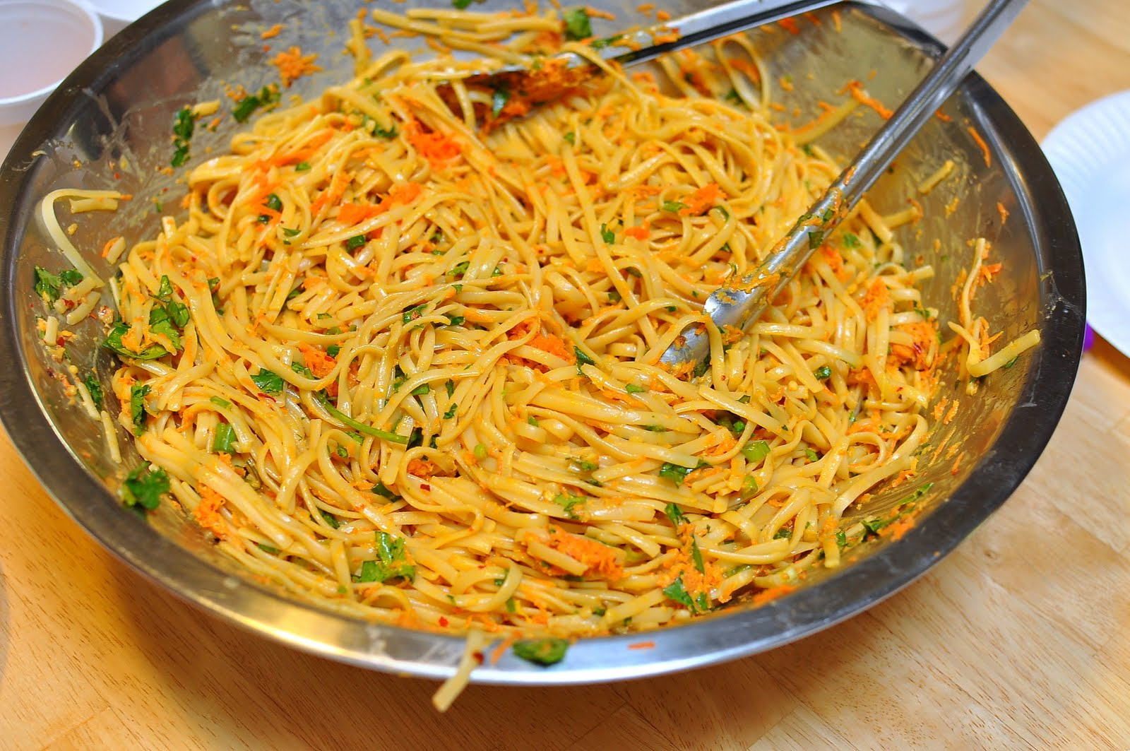 ... Angeles: Recipe of the Month: Asian Noodles with Peanut Butter Sauce