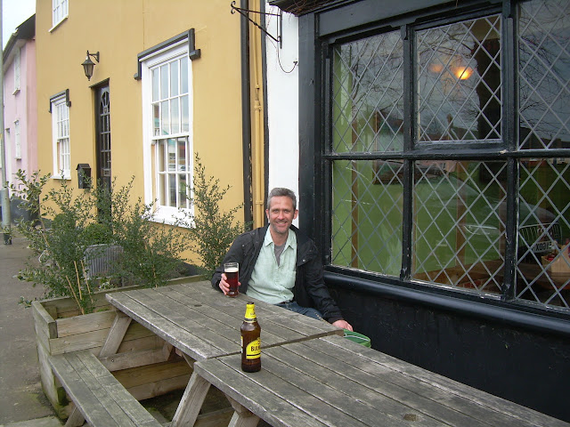 A pint at the Cock Inn, Diss