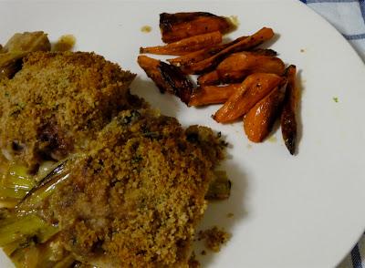dinner party: birthday-worthy devil's chicken thighs