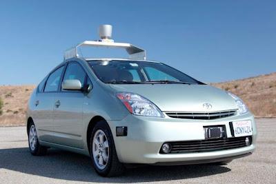 Google Driverless Car Toyota Prius