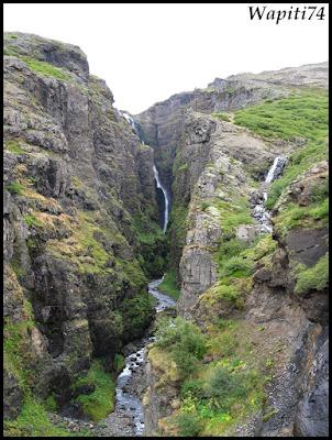 Un tour  d'Islande, au pays du feu... et des eaux. 4-Glymur