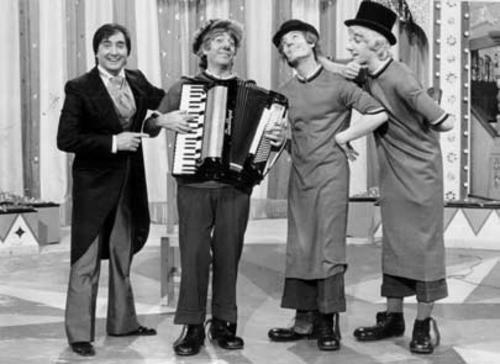 Los Payasos de la Tele: Gaby, Miliki, Fofito y Milikito