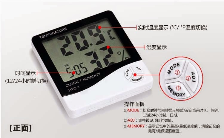 htc 1 thermometer user manual