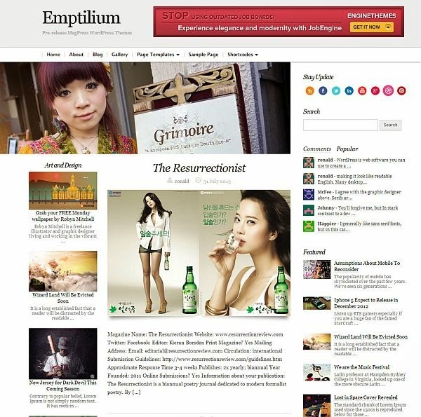 25 New Free Responsive WordPress Themes 12 25 New & Free Responsive WordPress Themes
