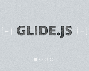 Glide – Responsive and Touch Friendly jQuery Slider