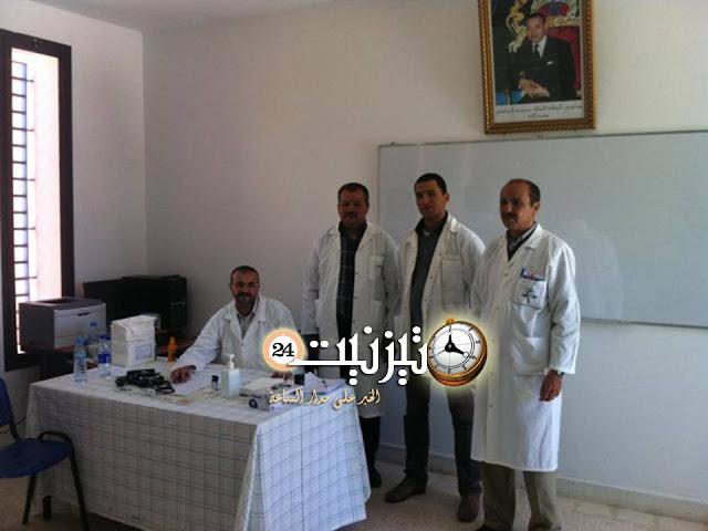 450 نزيلا ونزيلة بالمستشفى المحلي يستفيدون من حملة طبية متنوعة التخصصات