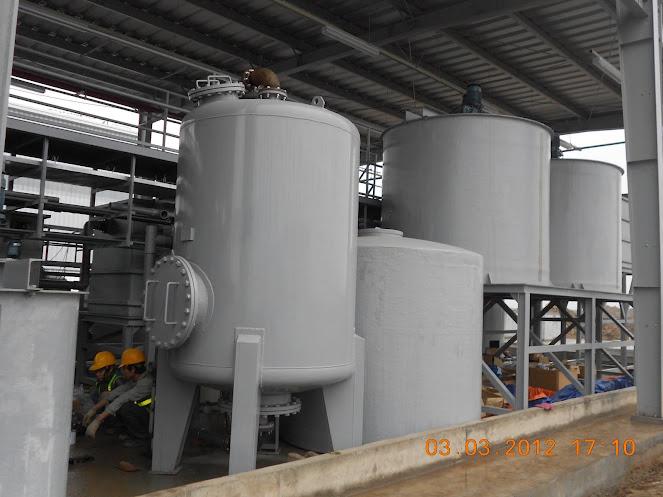 Bồn composite chứa PAC