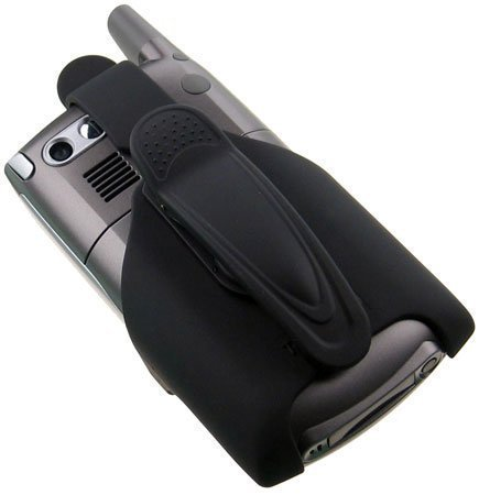 Treo 700wx 700w 700p 650 AccessoryOne Rubberized ABS Plastic Holster
