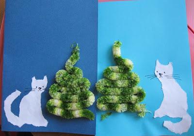 открытки с ёлочками