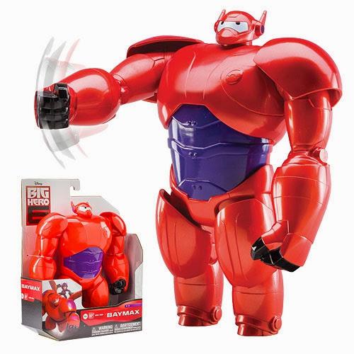 Đồ chơi Armored Baymax Big Hero 6 loại 10'' với áo giáp