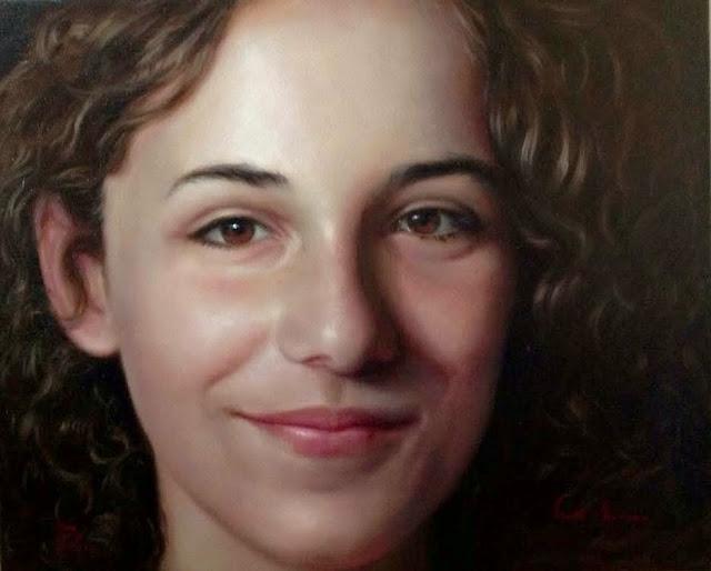 Eva,retrato de Carmen Alquezar Valero