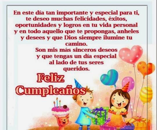 Felicitaciones de cumpleaños para amigo