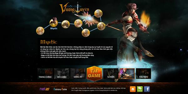 Cuộc Chiến Vương Quyền trình làng trang giới thiệu 4
