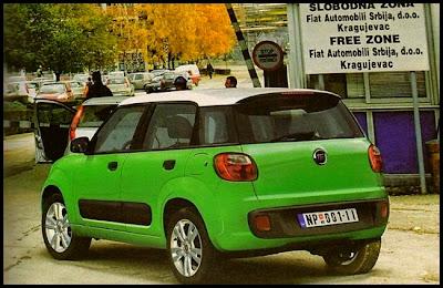 Fiat ElleZero rear