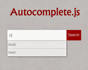 Autocomplete.js – jQuery Plugin for Search Hints