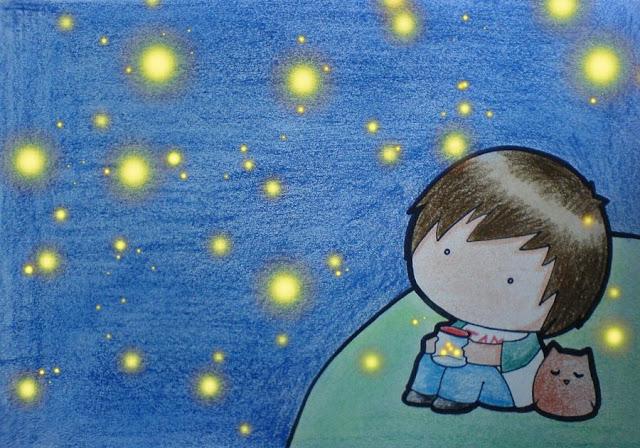 [Animation Pics] Owl City Chibi cực cute! Fireflies