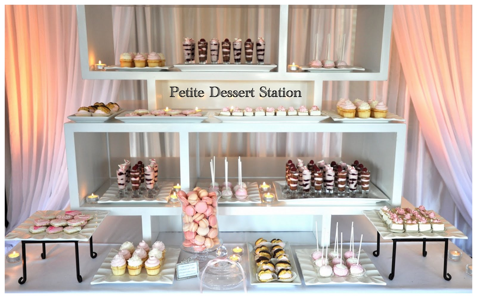 Now that your inspired with some wedding dessert bar ideas